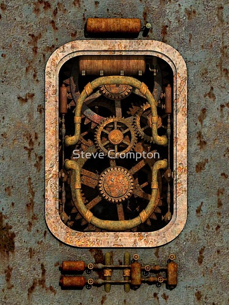 Infernal Steampunk Machine #1 phone cases by SC001