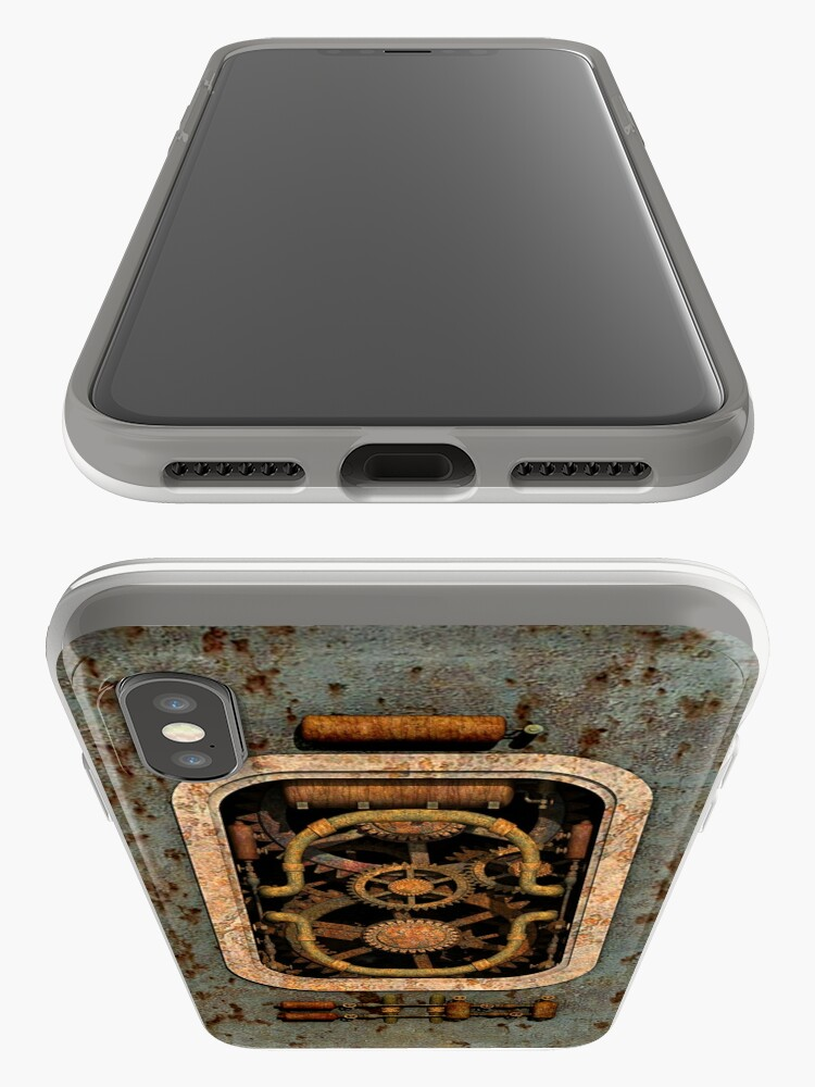 Alternate view of Infernal Steampunk Machine #1 phone cases iPhone Case & Cover