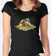 Sheldon's Rubik Women's Fitted Scoop T-Shirt
