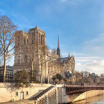 Notre Dame de Paris sur la Seine by marksda1