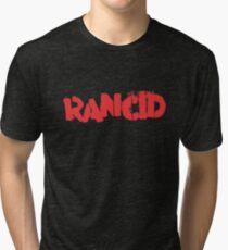 Rancid Logo Tri-blend T-Shirt