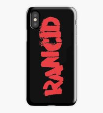 Rancid Logo iPhone Case/Skin