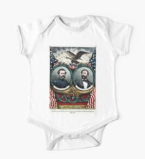 Grand banner of the radical democracy for 1864 - 1864 One Piece - Short Sleeve