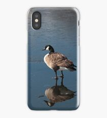 Reflections on ice iPhone Case/Skin