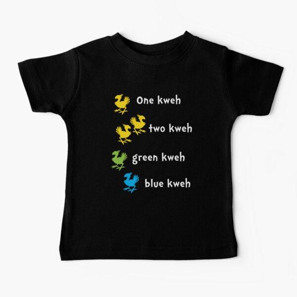 One Kweh Two Kweh Green Kweh Blue Kweh Baby T-Shirt