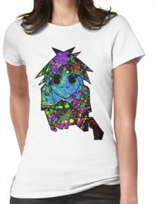 2D X Gorillaz Womens Fitted T-Shirt
