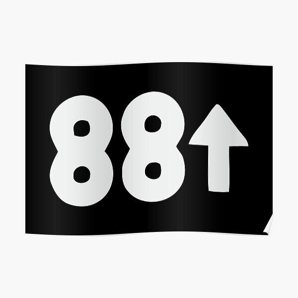 88rising Classics Logo Poster