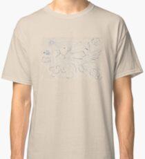0607 - A Bird catching a Fly Classic T-Shirt