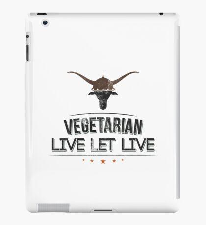 Vegan Vegetarian iPad Case/Skin