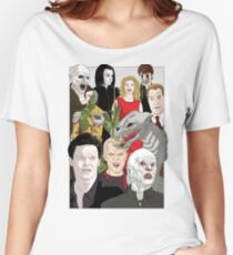 Buffy Big Bad Poster Women's Relaxed Fit T-Shirt