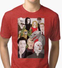 Camiseta de tejido mixto Buffy Big Bad Póster