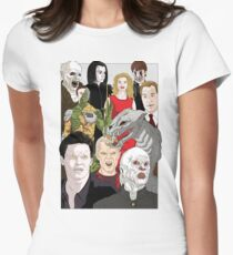 Buffy Big Bad Poster Women's Fitted T-Shirt