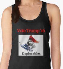 Les deplorable Trump 2016 TSHIRT Women's Tank Top