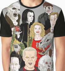 Buffy Big Bad Poster Graphic T-Shirt