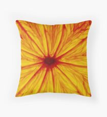 0820 Citrino Star Throw Pillow