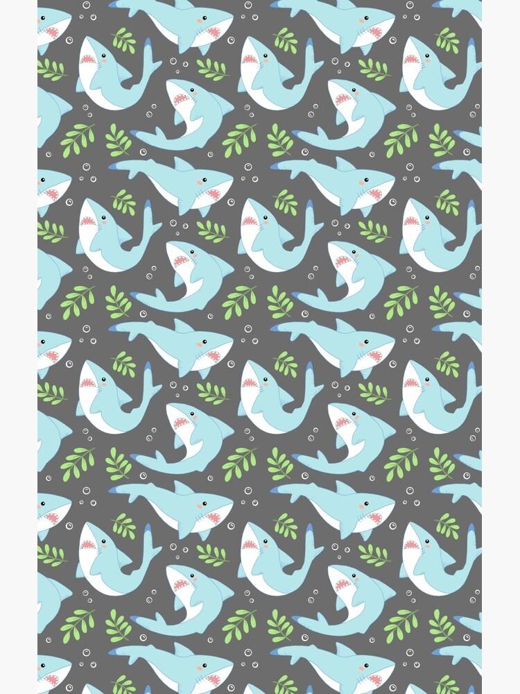 doofy shark pattern- natural by clockworkkite