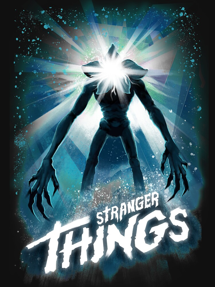 Stranger Things The Thing Mashup | Unisex T-Shirt
