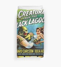 Vintage poster - Creature from the Black Lagoon Duvet Cover