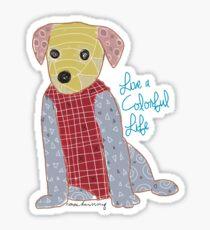 Puppies pattern Sticker