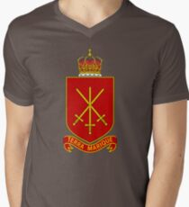 His Majesty's Armed Forces (Tonga) Men's V-Neck T-Shirt