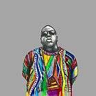 Biggie Smalls Watercolour  by AppleGoose
