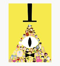 Gravity Falls Characters Photographic Print
