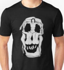 Camiseta unisex Calaveras de Salvador Dalí - NEGRO 3dca8c738239b