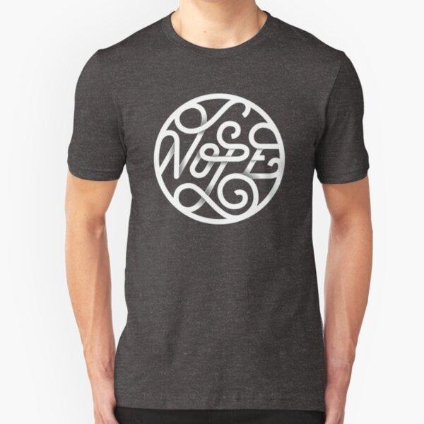 Nope - Typographic Art Slim Fit T-Shirt