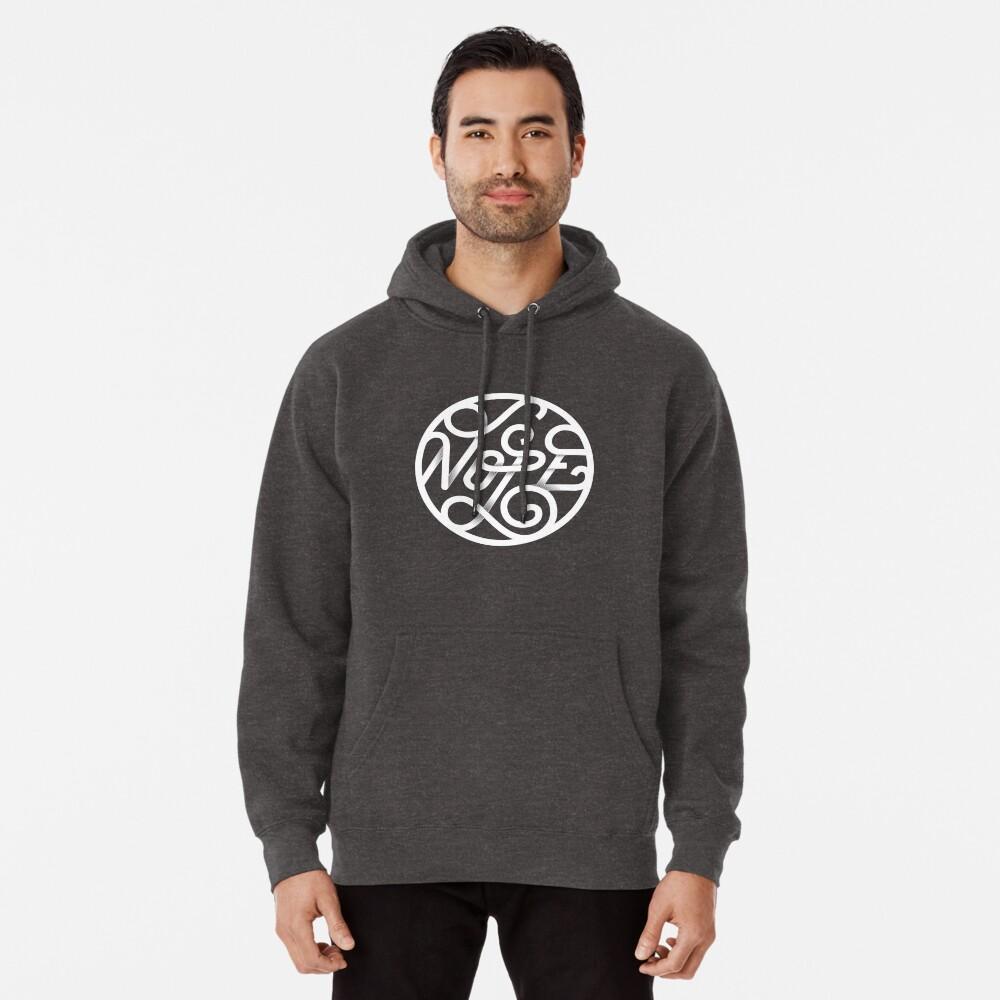 Nope - Typographic Art Pullover Hoodie