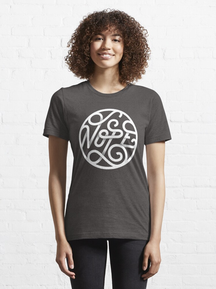 Alternate view of Nope - Typographic Art Essential T-Shirt