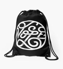 Nope - Typographic Art Drawstring Bag