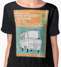 Mystery Manual Women's Chiffon Top