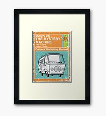 Mystery Manual Framed Print