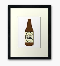 Male Tears Bitter Beer - Bottle Framed Print