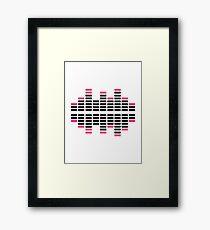 Equalizer Dj Turntables Framed Print
