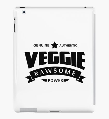 Veggie Rawsome Power iPad Case/Skin