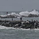 Rough Seas to Block Island by Barry Doherty