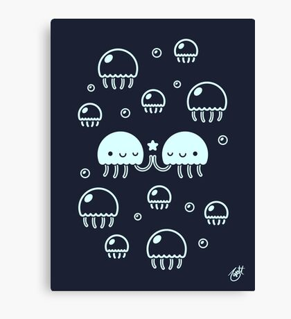 Jelly Pals Canvas Print