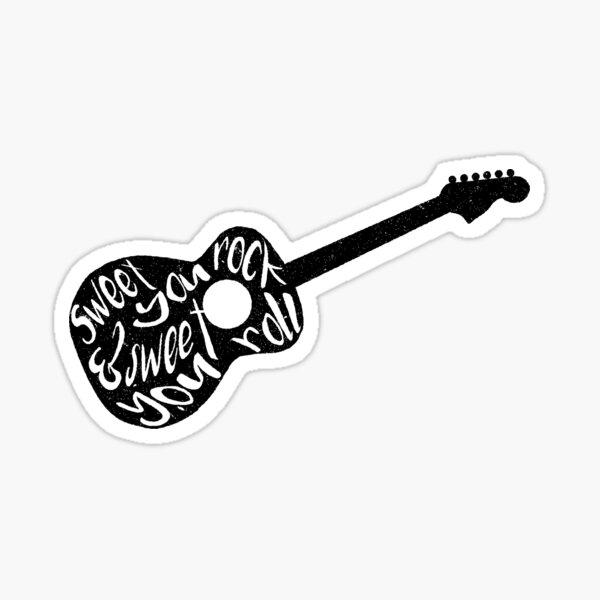 Sweet You Rock Dave Matthews Band Imagery Sticker