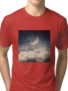 The swinging moon Tri-blend T-Shirt