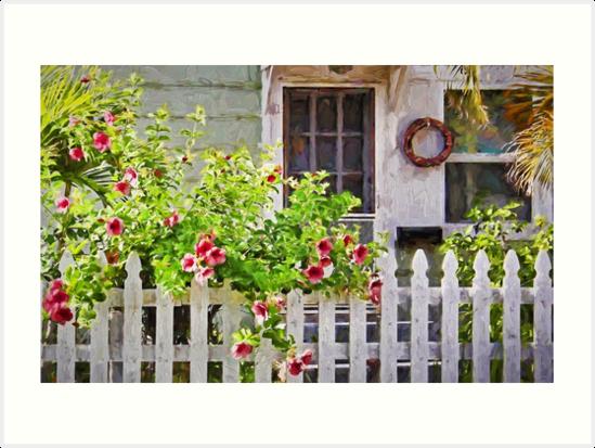 Amazing Shabby Chic Beach Cottage Art Print By Hhphotographyfl Interior Design Ideas Lukepblogthenellocom