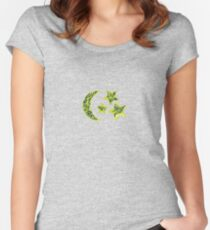 Look at the stars Women's Fitted Scoop T-Shirt