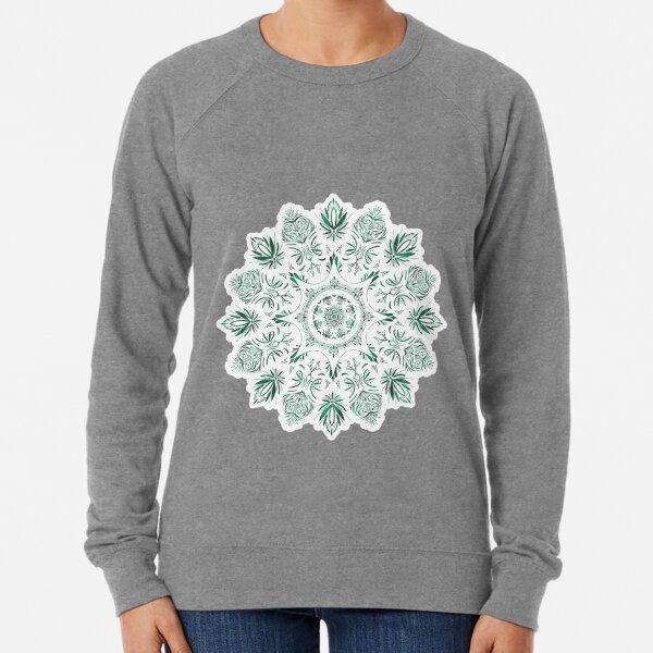 Malachite Mandala Lightweight Sweatshirt