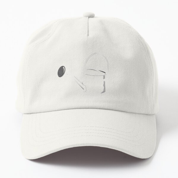 Watering Can Angled Spout White Dad Hat