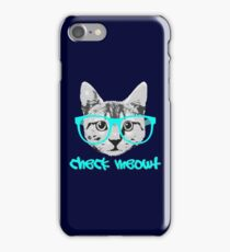 Check Meowt - Funny Saying iPhone Case/Skin