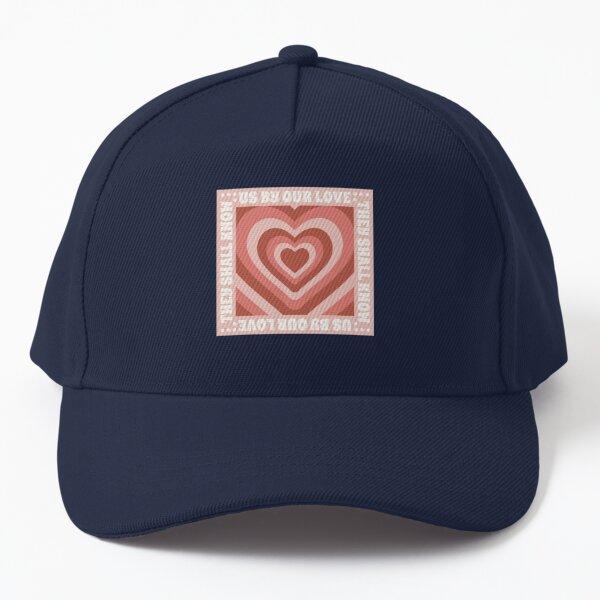 John 13:35 Design- (Pink and Red) Baseball Cap