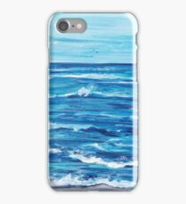Choppy Ocean Painting iPhone Case/Skin