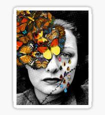 Butterfly Jewel. Sticker