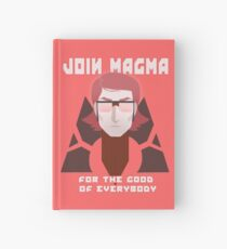 TEAM MAGMA Hardcover Journal