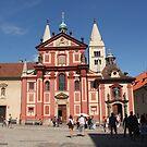 Prague St. George's Basilica by Elena Skvortsova